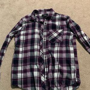 Purple Flannel. Size S